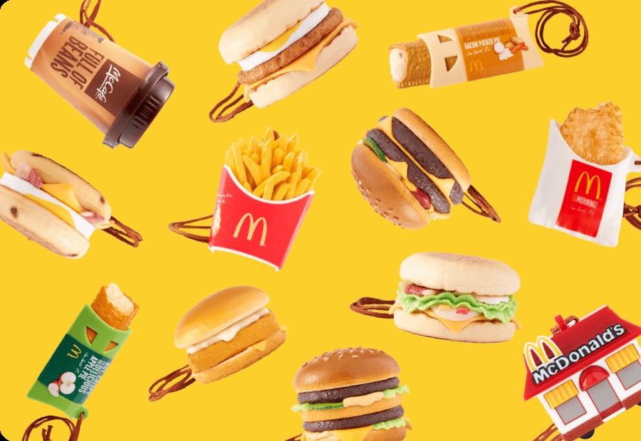 McDonald's フードストラップキャンペーン